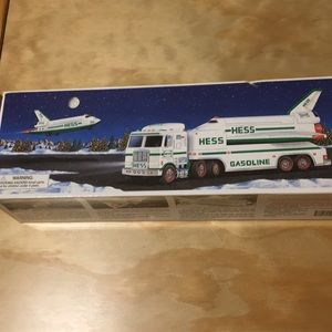Hess Truck & Space Shuttle with Satellite